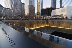 September 11th minnesmärke Arkivbilder