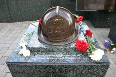 September 11th minnesmärke, West Orange som är nytt - ärmlös tröja, USA Arkivfoto