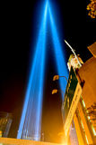 September 11th Tribute in light - New York City. Royalty Free Stock Images