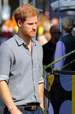 Prince Harry during Invictus Games Royalty Free Stock Images