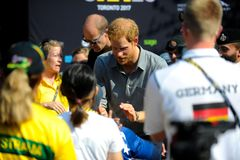 Prince Harry during Invictus Games Stock Photos