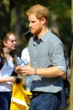 Prince Harry during Invictus Games Royalty Free Stock Photos