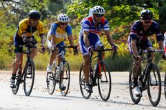 Toronto Invictus Cycling Criterium at High Park Royalty Free Stock Photo