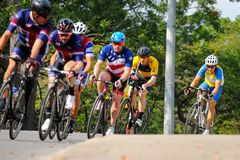 Toronto Invictus Cycling Criterium at High Park Royalty Free Stock Photos