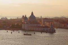 September twilight over Venice. Italy Stock Photo