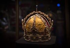 Treasury of the Habsburg dynasty Museum Hofburg palace in Vienna Austria. 3 SEPTEMBER 2018, VIENNA, AUSTRIA: Treasury of the Habsburg dynasty Museum Hofburg stock photos