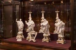 Treasury of the Habsburg dynasty Museum Hofburg palace in Vienna Austria. 3 SEPTEMBER 2018, VIENNA, AUSTRIA: Treasury of the Habsburg dynasty Museum Hofburg stock image