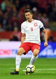 World Cup Rusia 2018 qualification match Poland - Kazakhstan. 4 SEPTEMBER, 2017 - WARSAW, POLAND: Football World Cup Rusia 2018 qualification match Poland Stock Images