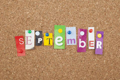 September Stock Photography