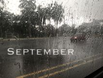 September the ninth month in the year.