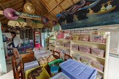 22 septembre 2017 à l'intérieur de du café d'honnêteté en île de Batan, Batanes Images stock