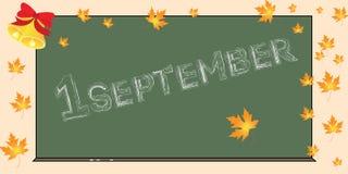septembre Image libre de droits