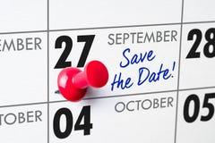 27 septembre Photos stock
