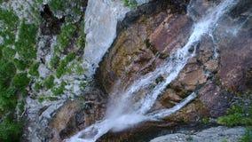 Septembre cascade l'île des Îles Maurice de chutes de Tamarin mouvement lent aérien 1080p 120fps banque de vidéos