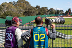 16-18 septembre de Wilson Security Sandown 500 2016 Photographie stock libre de droits