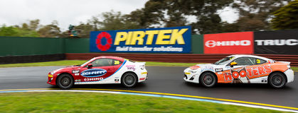 16-18 septembre de Wilson Security Sandown 500 2016 Images libres de droits
