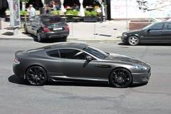 10 septembre 2013, Kiev, Ukraine Projet Kahn de Matt Aston Martin DBS sur la route à Kiev photographie stock