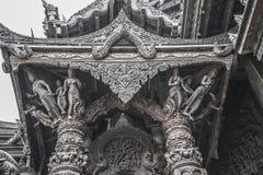 14 septembre 2014 Le temple vrai est un completel unique de temple Image libre de droits