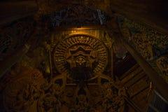 14 septembre 2014 Le temple vrai est un completel unique de temple Images libres de droits