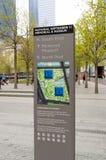 11 septembre mémorial Photos libres de droits