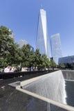 11 septembre mémorial - New York City, Etats-Unis Images stock