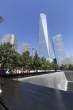 11 septembre mémorial - New York City, Etats-Unis Photographie stock libre de droits