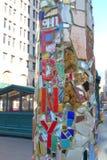 11 septembre mosaïque Images libres de droits