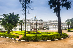 25 septembre 2014 : Palais à Vientiane, Laos Image stock