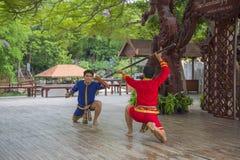 14 septembre 2014 Représentation traditionnelle des acteurs dans Photo libre de droits