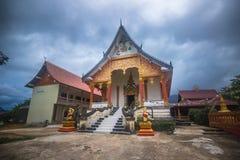 23 septembre 2014 : Temple bouddhiste dans Vang Vieng, Laos Photographie stock