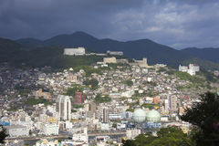 13 septembre 2016 ville de Nagasaki, Japon Photographie stock libre de droits
