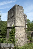 Septfontaines castle, Luxemburg. Castle tower of the Septfontaines castle in Luxemburg (part of the 'valley of the seven castles Stock Images