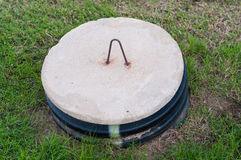 Concrete Septic Tanks Stock Photo Image 48589123