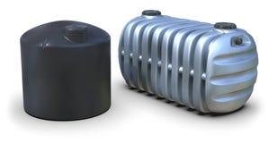 Septic tanks Stock Image