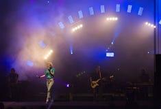 Septiembre en concierto Fotos de archivo libres de regalías