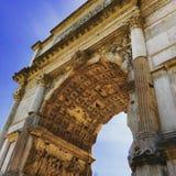 Septimius Severus Arch stock photos