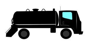 Septyczna cysternowa ciężarówka Zdjęcia Stock