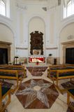 Sepulcher of Saint Lucia in Syracuse royalty free stock photo