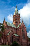 The Sepulchral Chapel Karlsruhe. With an atmospheric setting in the Hardtwald forest, the Sepulchral Chapel (Großherzogliche Grabkapelle Karlsruhe) is the only Royalty Free Stock Photo