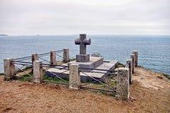 Sepulcro de Chateaubriand en Bretaña Francia Imagen de archivo