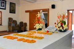 Sepulcro de madre Teresa en Kolkata, la India Imagenes de archivo