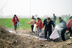 sepulcro del Chino-estilo Fotografía de archivo libre de regalías
