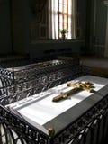 Sepulcro en la iglesia St Petersburg Fotografía de archivo
