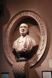 Sepulcro y busto del programa de escritura Jonathan Swift Imagen de archivo libre de regalías