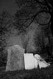 Sepulcros del cementerio imagen de archivo libre de regalías