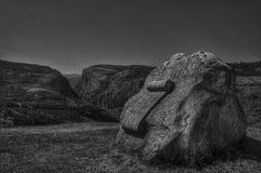 A sepultura da dobra famosa Pughi do folklorist Fotografia de Stock