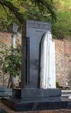 A sepultura da mãe do ` s de Stalin no panteão de Tbilisi fotografia de stock