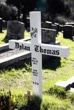 Sepultura de Dylan Thomas Imagem de Stock