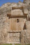 Sepultura do rei Daeiros perto de Persepolis Foto de Stock