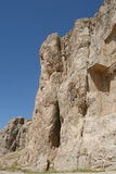 Sepultura do rei Daeiros perto de Persepolis Imagens de Stock Royalty Free